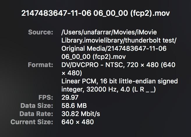 STRANGE) Firewire mini dv audio import - Apple Community