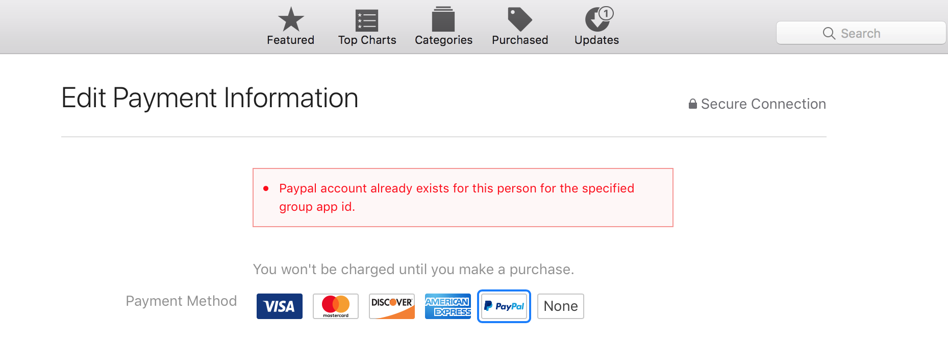 PayPal suddenly does not work on my iPad … - Apple Community