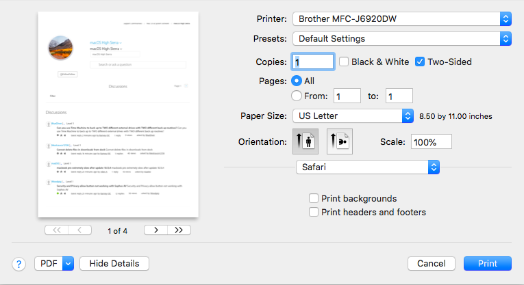 epson double sided printed not available … - Apple Community