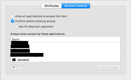 Aways allow don't work with parsecd k… - Apple Community