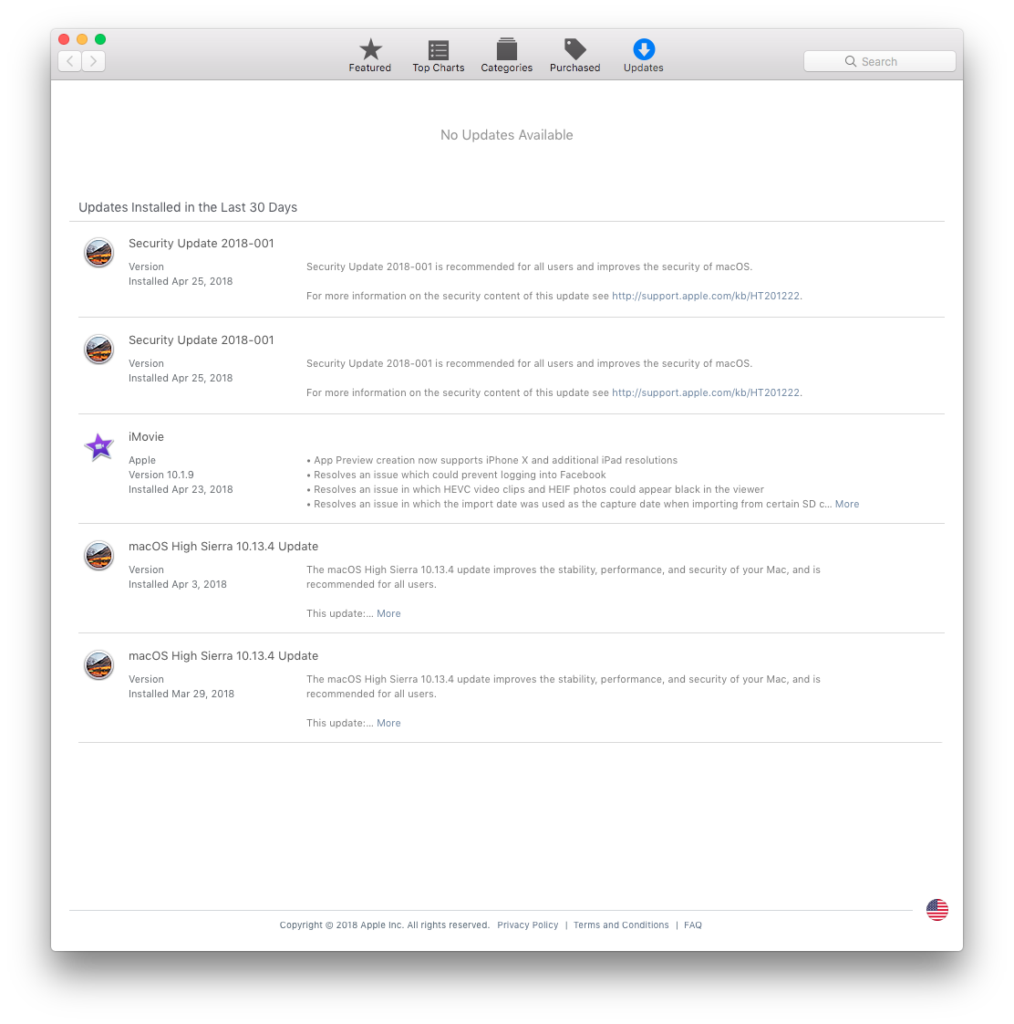 Constant KP after Security Update - Apple Community