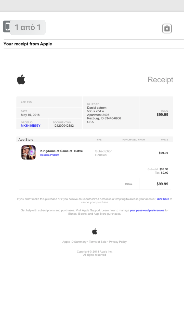 Fake email from Apple Support - Apple Community
