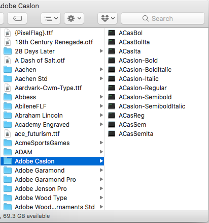 Zero KB Font Files after Upgrade to High … - Apple Community