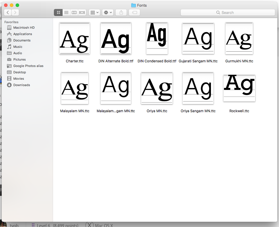 Missing included fonts in High Sierra - Apple Community