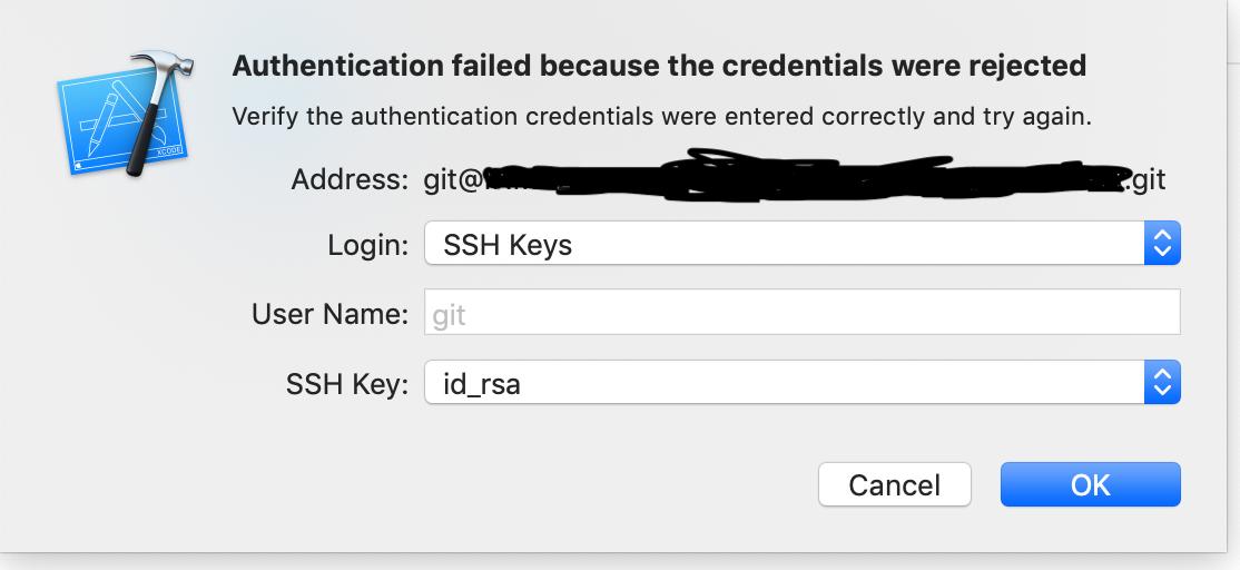 I am facing Authentication failed error i… - Apple Community