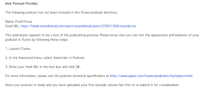 Podcast Rejected -