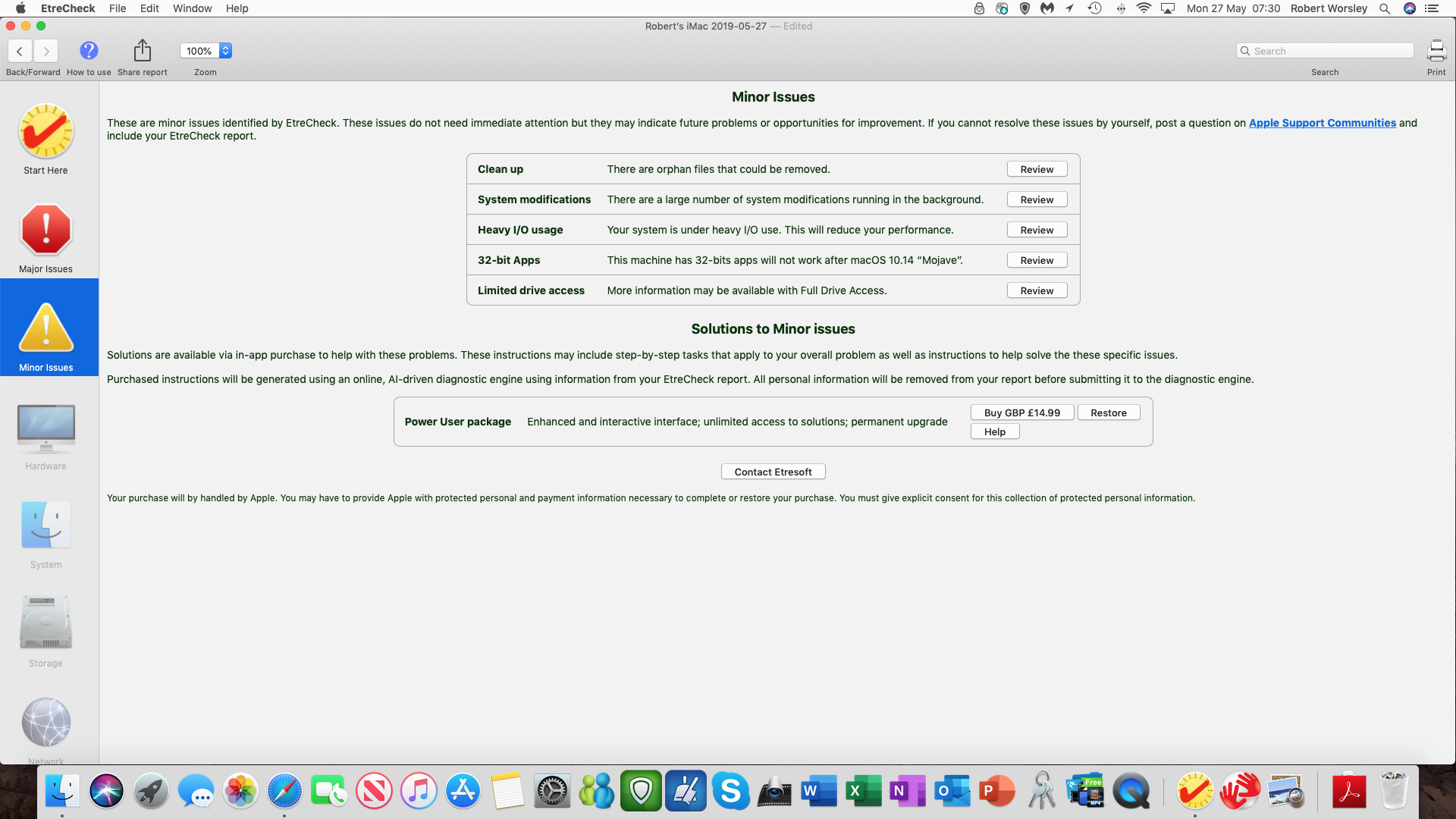 suspected malware - Apple Community