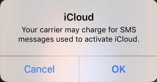 Your carrier may charge for SMS mess… - Apple Community