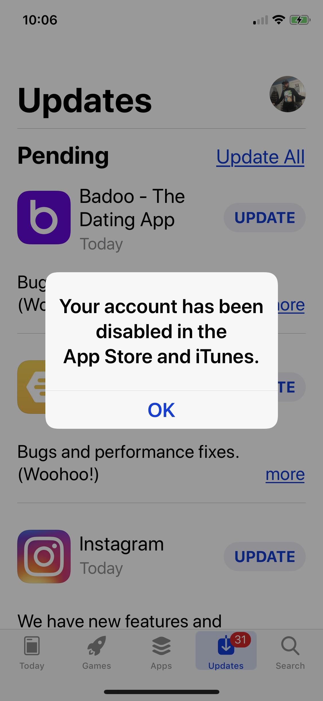 dating App iTunes