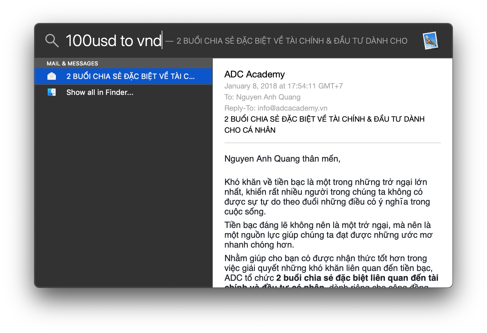 Question Q I Can T Convert To Vnd Vietnamese Dong In Spotlight