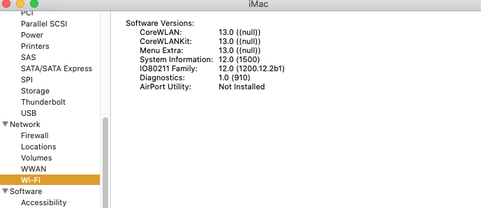 Wifi Not Showing Up On 10 15 6 Apple Community