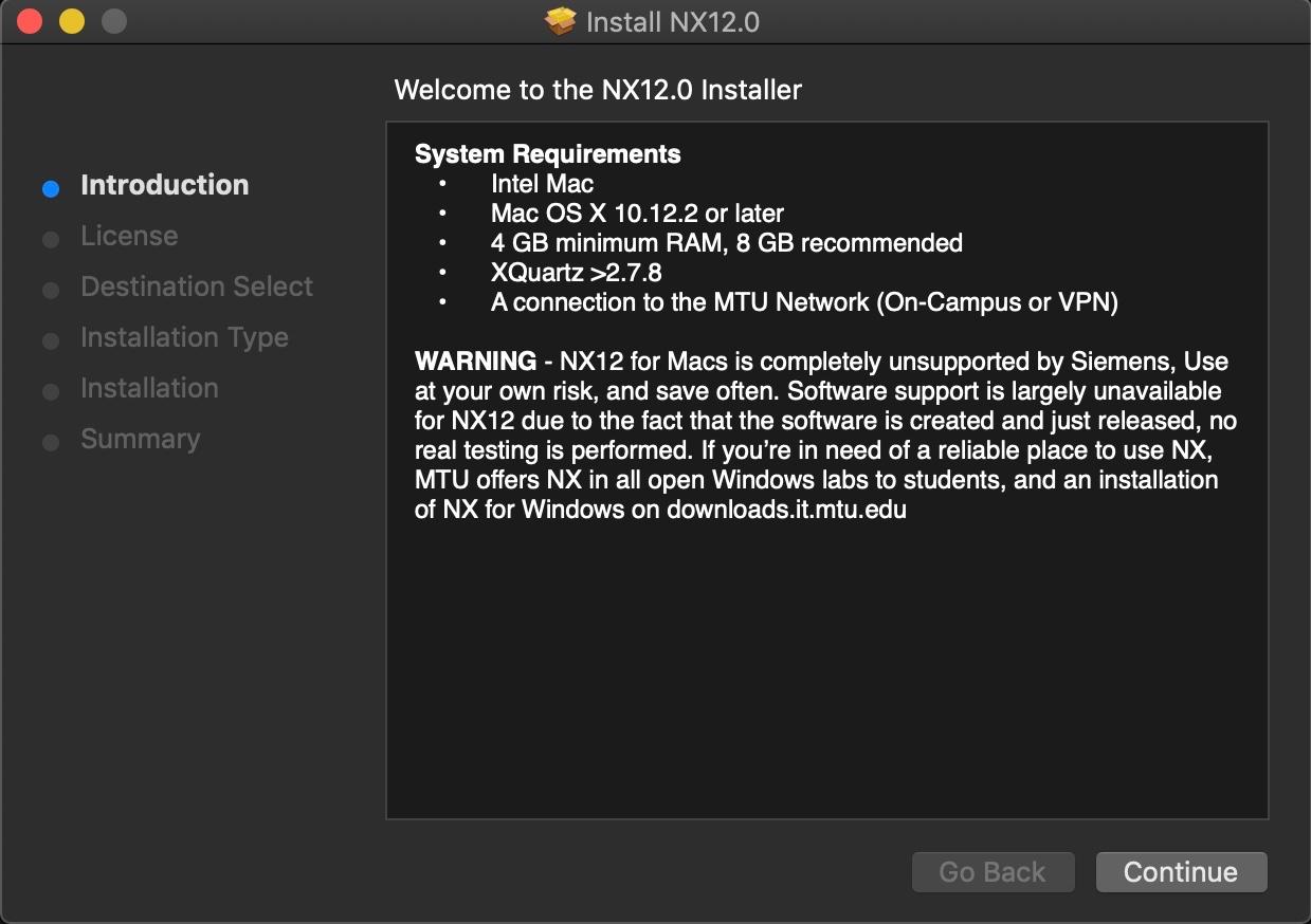 XQuartz and Siemens NX Compatibility - Apple Community