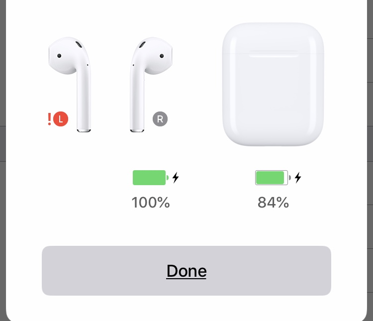 Left Airpod Won T Charge And Has A Red Ex Apple Community