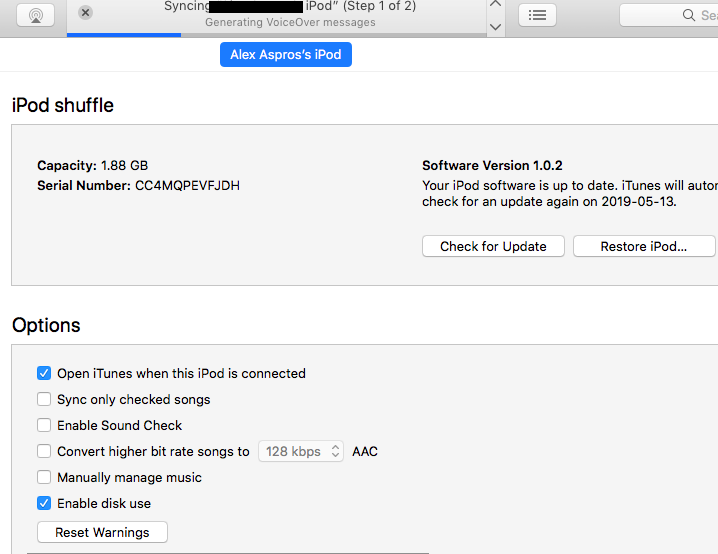 Itunes For Ipod Shuffle