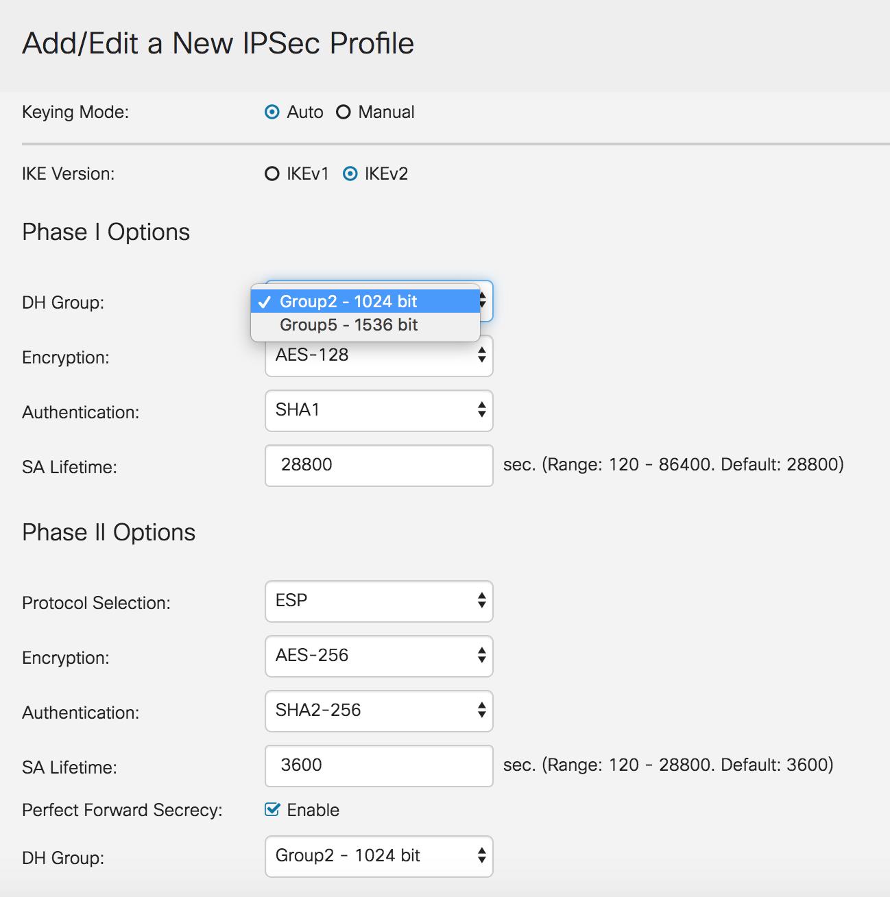 How to configure Cisco IPSec VPN for maco… - Apple Community