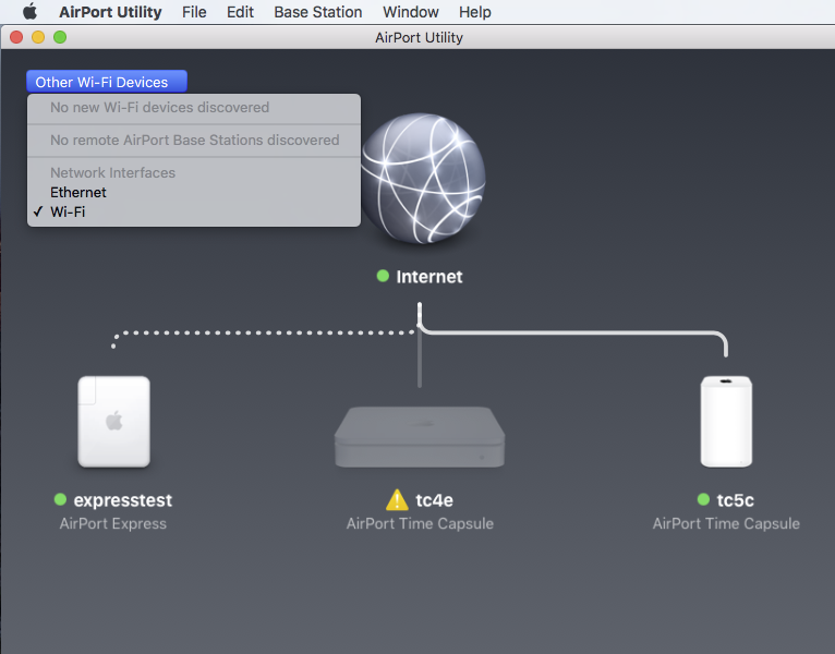 Airport Express not showing up in iTunes … - Apple Community