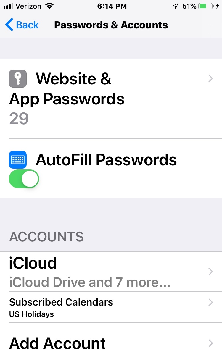 why cant i add an email account in the Ac… - Apple Community