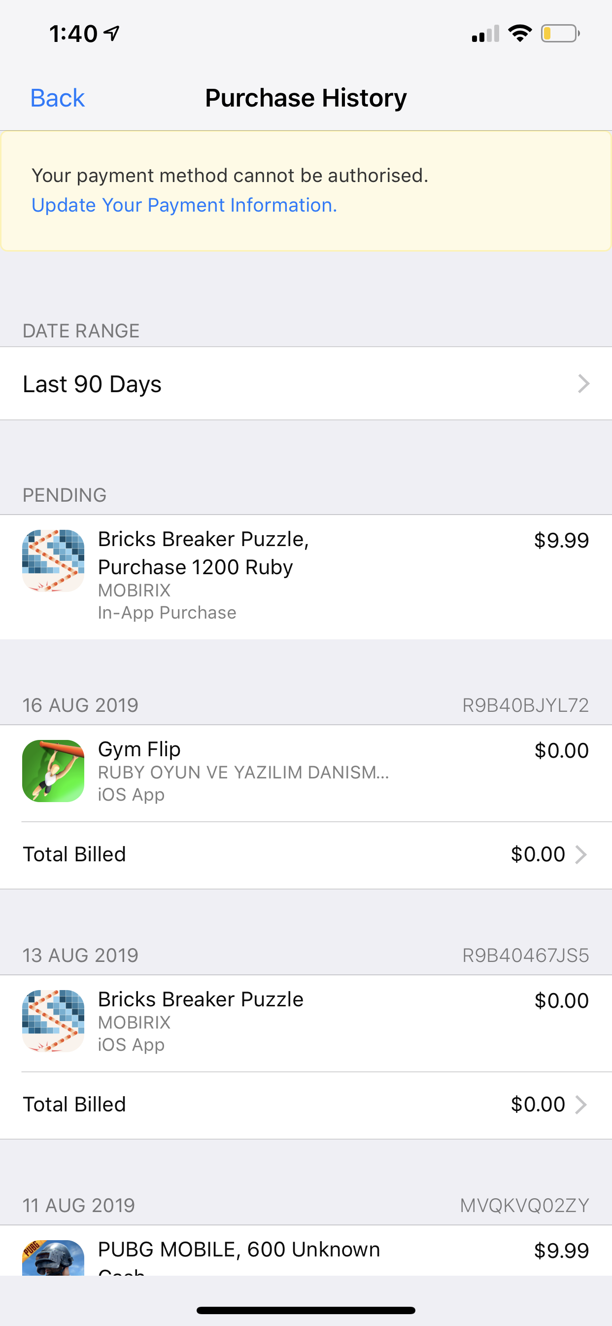 how can i cancel my pending purchase - Apple Community