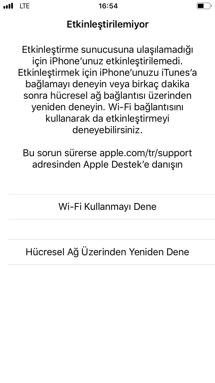 activation error iphone 6 help no wifi - Apple Community