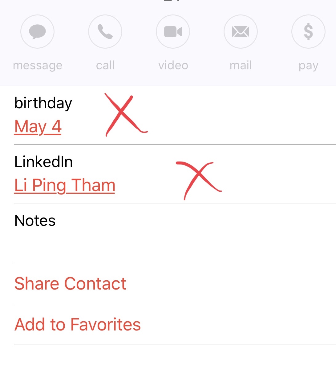 Linkedin contacts appearing in my iPhone … - Apple Community