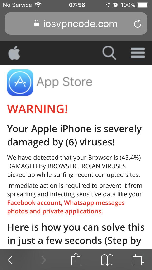 Apple Iphone Virus