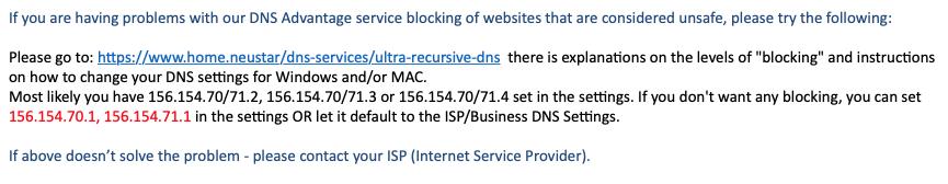 Site Blocked Warning From Neuster Won Apple Community