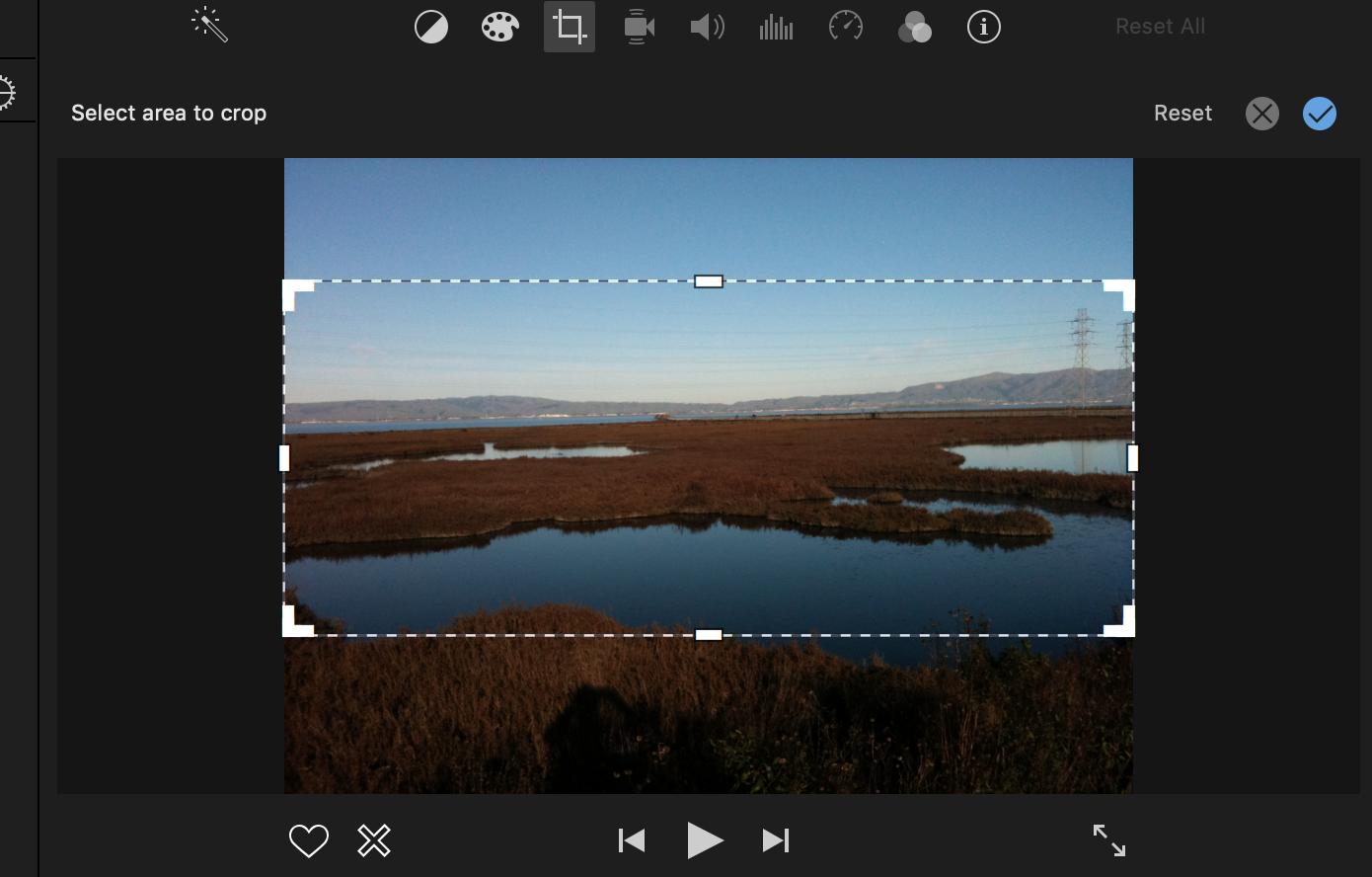 How to change aspect ratio in IMovie? - Apple Community