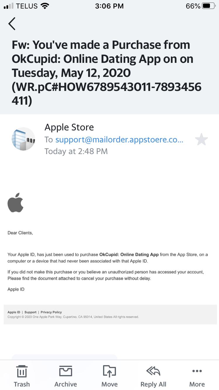 Fraud Apple Community