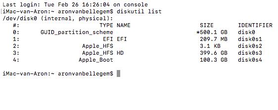 my diskutil list looks bad apple_boot 100… - Apple Community