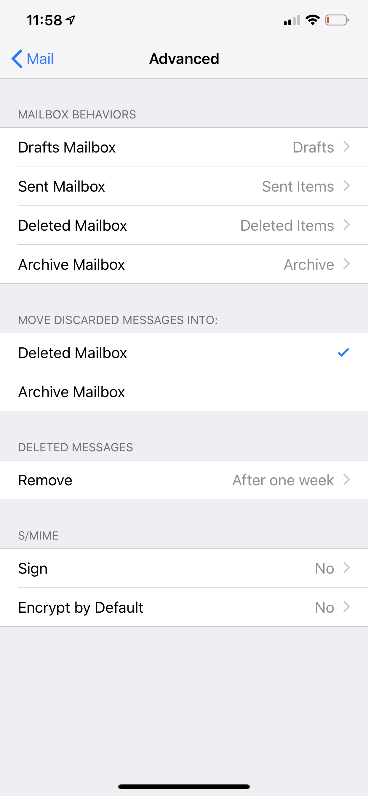 iCloud Mail & Windows 10 Mail App creates Duplicate Sent and