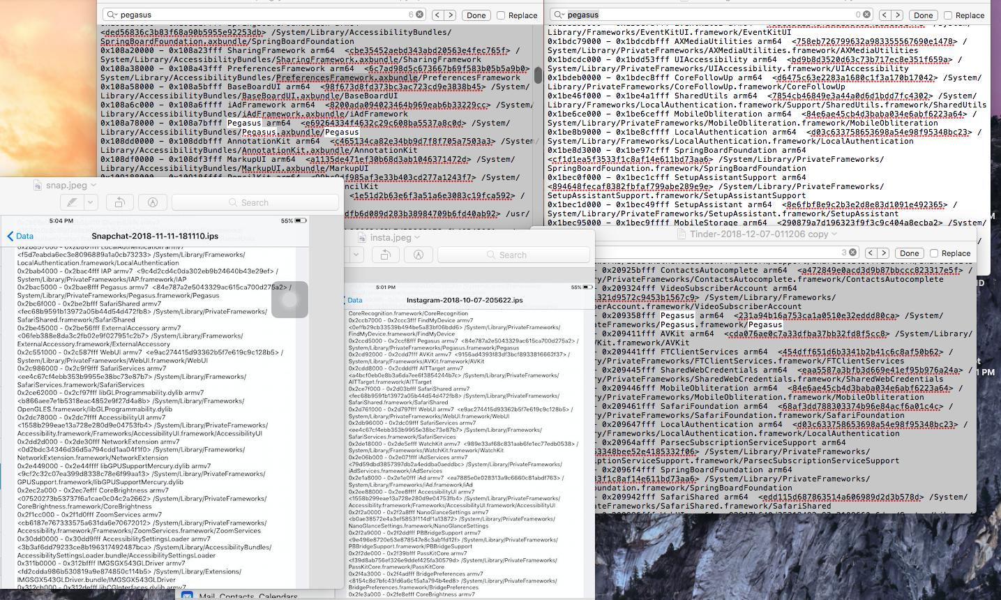 pegasus/mobile obliteration in apps runni… - Apple Community