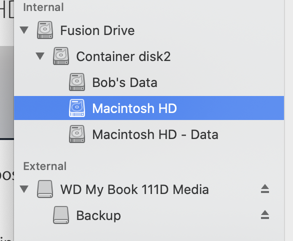 "Two Volumes Named ""Macintosh HD - Dat… - Apple Community"