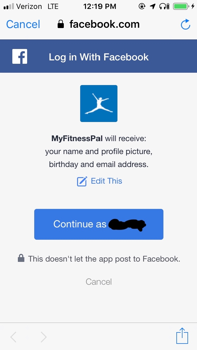 Facebook logging into apps with wrong acc… - Apple Community