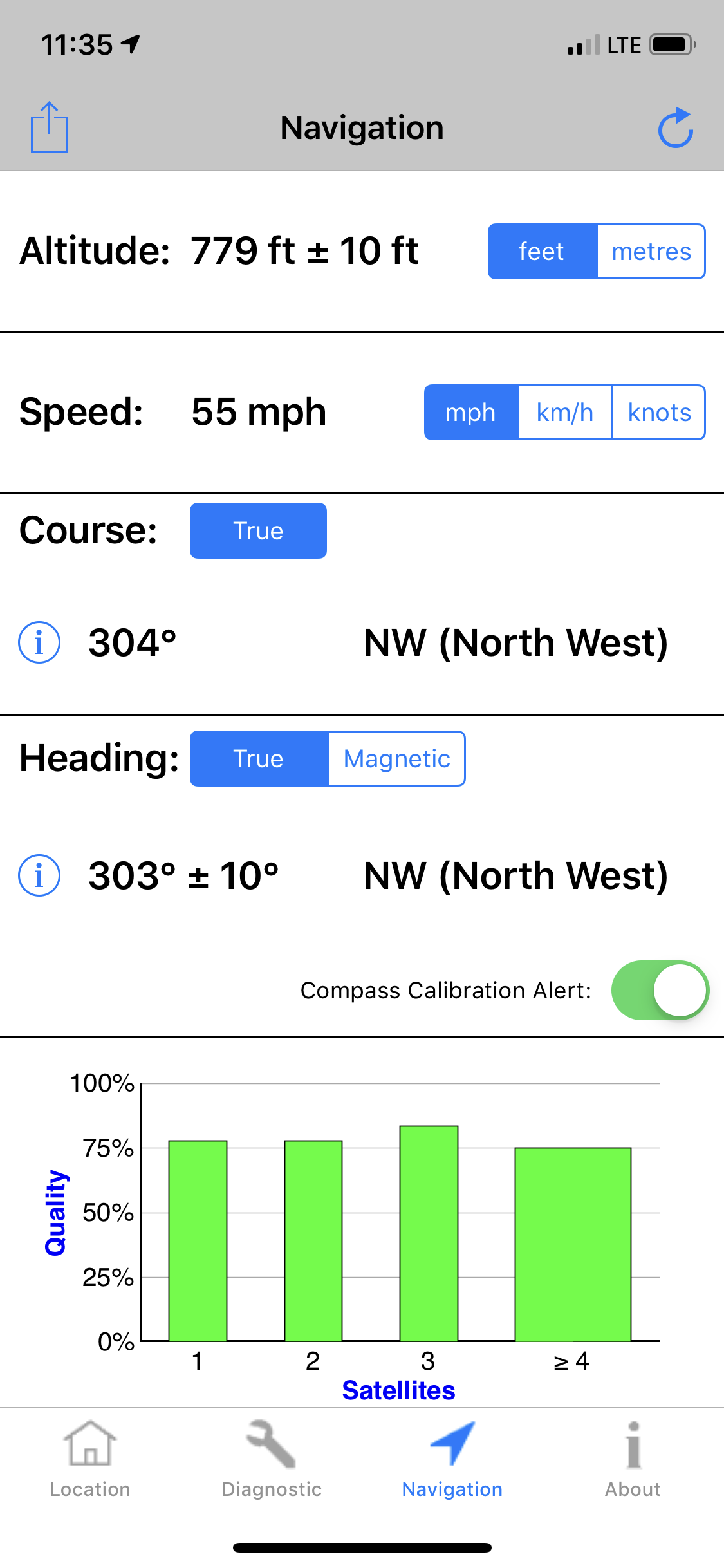 GPS Speed indicating high - Apple Community